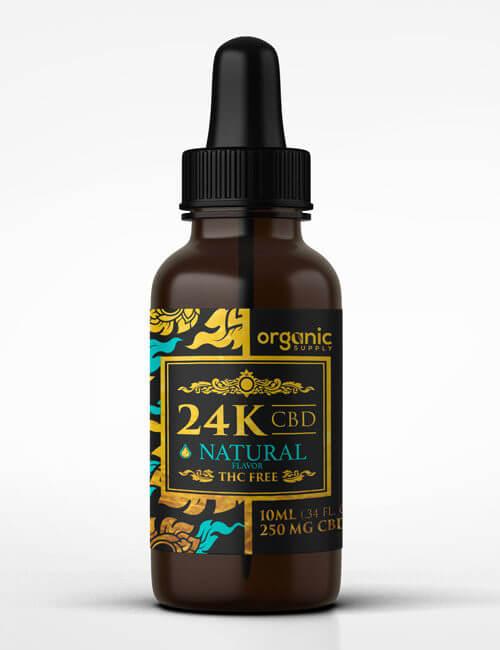 24K CBD Natural Flavor