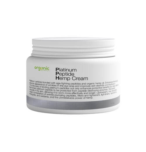 Platinum Peptide Hemp Cream